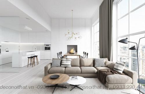 ghế sofa phòng khách 171 đẹp mang đến không gian sang trọng