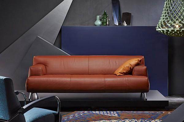 Ghế sofa đương đại với gam màu trung tính