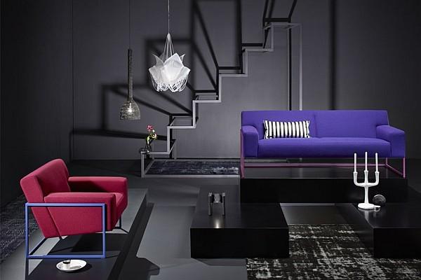 Màu sắc tạo nên những chiếc ghế sofa hiện đại và sang chảnh