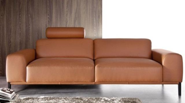Sofa 2 chỗ 045 được bọc bằng chất liệu Simili giả da
