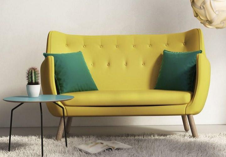 Sofa 2 chỗ 046 kiểu dáng trang nhã và hiện đại