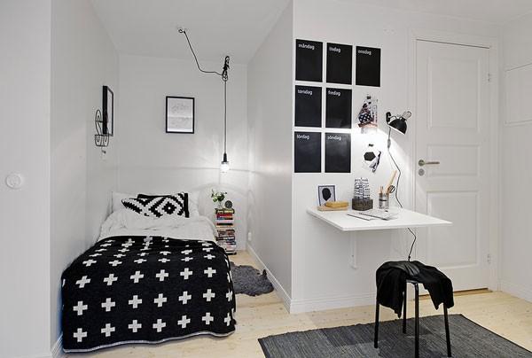 Bí quyết trang trí nội thất cho phòng ngủ nhỏ