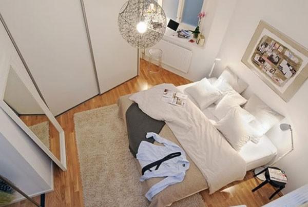 Cách trang trí phòng ngủ nhỏ hep đầy tiện nghi