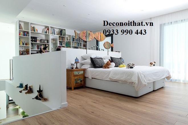 Giường ngủ trẻ em giá rẻ 017TP với sự phổi hợp nhẹ nhàng, hợp lý giữa không gian nghỉ ngơi, học tập và giải trí. Giúp bé phát triển một cách toàn diện