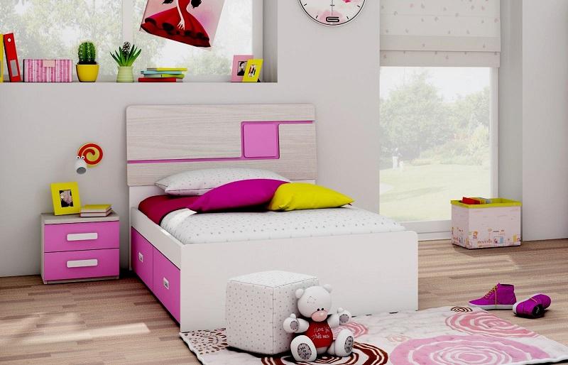giường 009 trẻ em mdf chống ẩm nhập khẩu