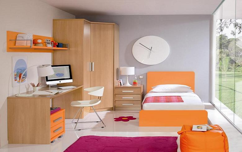 Thiết kế nội thất phòng trẻ đơn giản nhưng vô cùng hiện đại