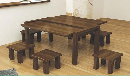 Thiết kế bàn ghế café độc đáo