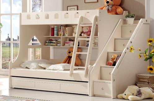 Thiết kế giường tầng mới lạ và đẹp mắt