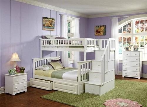Không gian thoáng mát khi dùng giường tầng