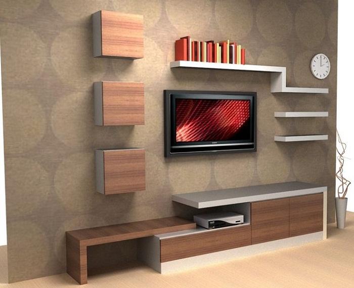 Deconoithat chuyên thiết kế ,thi công Kệ tivi với nhiều kiểu dáng ,chất liệu khác nhau
