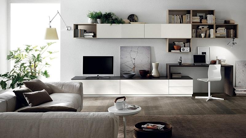 Kệ tivi kết hợp bàn làm việc là một sản phẩm cực kỳ độc đáo và sáng tạo sẽ mang đến cho bạn một không gian vô cùng tiện nghi