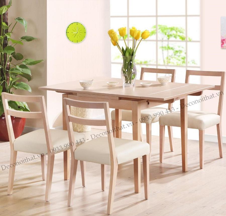 Bộ bàn ghế ăn giá rẻ sang trọng sẽ là tâm điểm của không gian phòng bếp