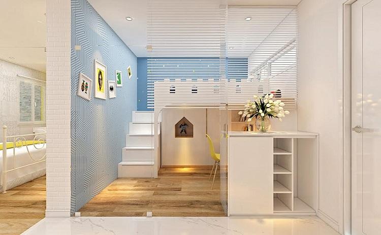 khi thiết kế phòng hcij cho bé, các bậc cha mẹ nên để ý đến những chi tiết dù nhỏ nhất để bé có một không gian phát triển toàn diện