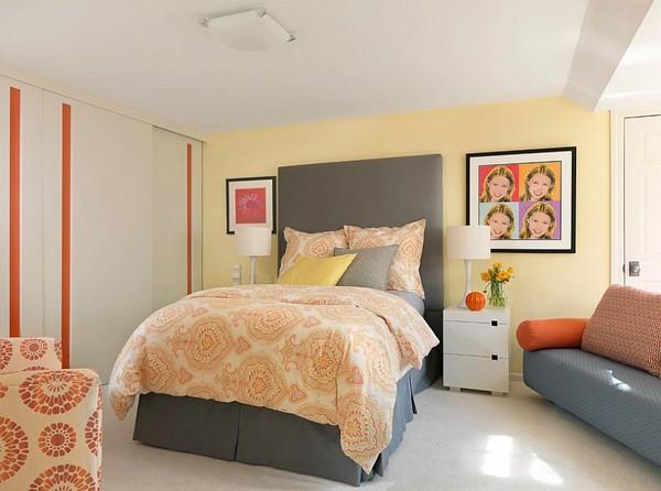 Sử dụng những gam màu ấm trong phòng ngủ là điều không dễ chút nào