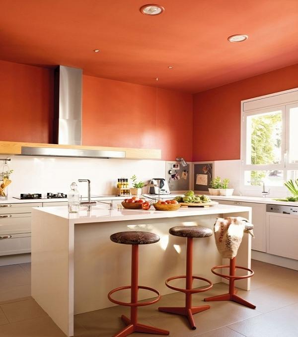 Tủ bếp này được thiết kế theo phong cách châu âu