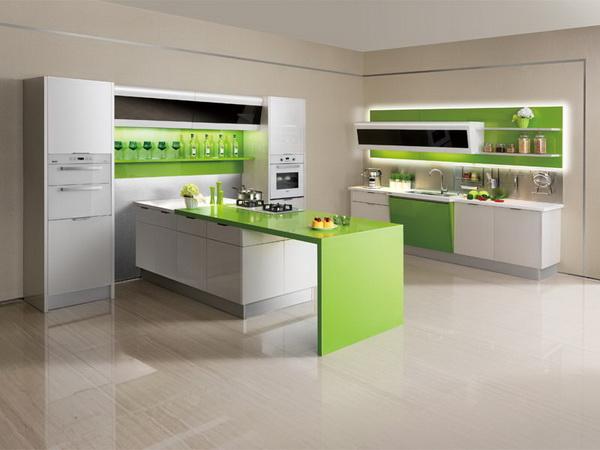 Chọn màu sắc tủ bếp theo phong thủy