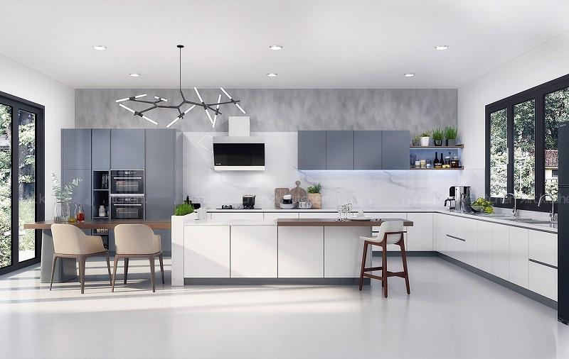 Tham khảo bảng giá làm tủ bếp bằng nhiều vật liệu khác nhau
