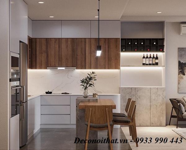Ý nghĩa của màu sắc trong thiết kế nội thất phòng bếp ngày nay đang được ưu chuộng nhất hiện nay