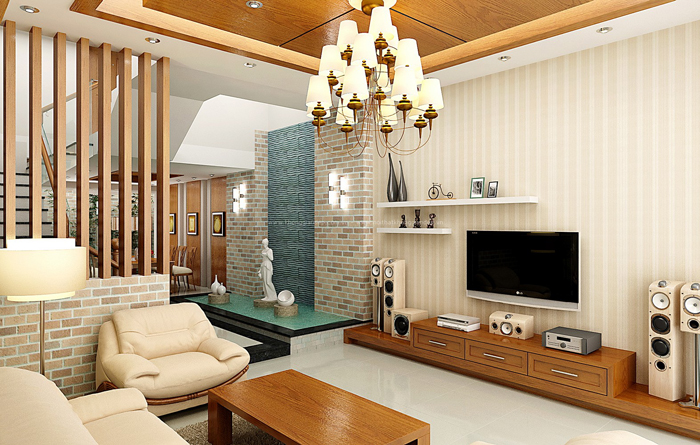 Mẫu vách ngăn trang trí phòng khách đẹp giá rẻ tại Deconoithat